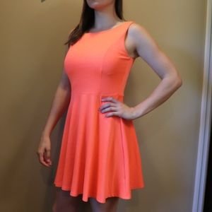 Francesca's Open-back Bright Tank Dress